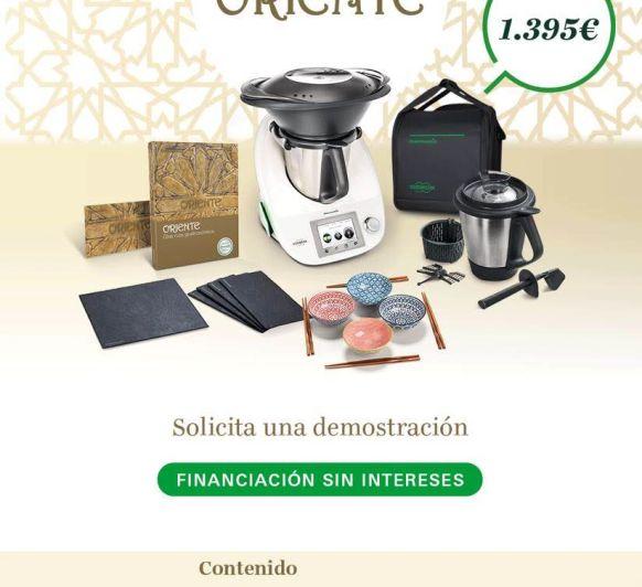 Nueva edición Gastronomía de Oriente, compra tu Thermomix® con financiación al 0% de interés