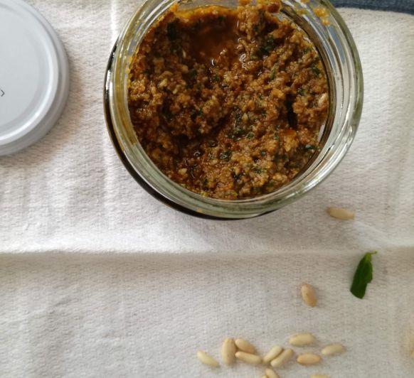 Pesto rojo, una receta hecha en Thermomix® con muchas posibilidades