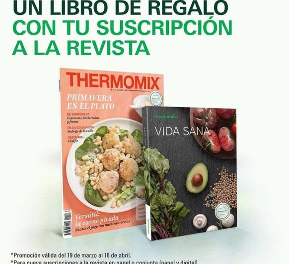 Libro de Regalo Thermomix® con la suscripción a la Revista