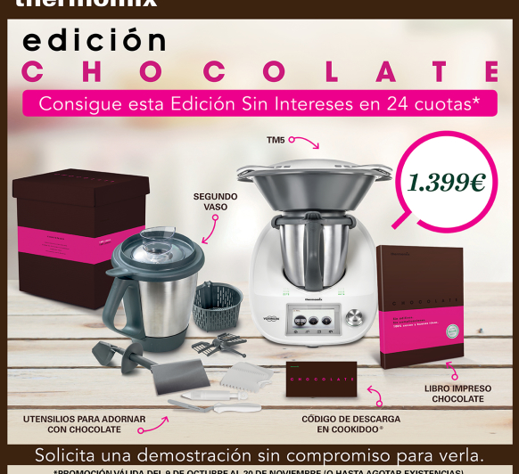 Thermomix® TM5 Edición Chocolate
