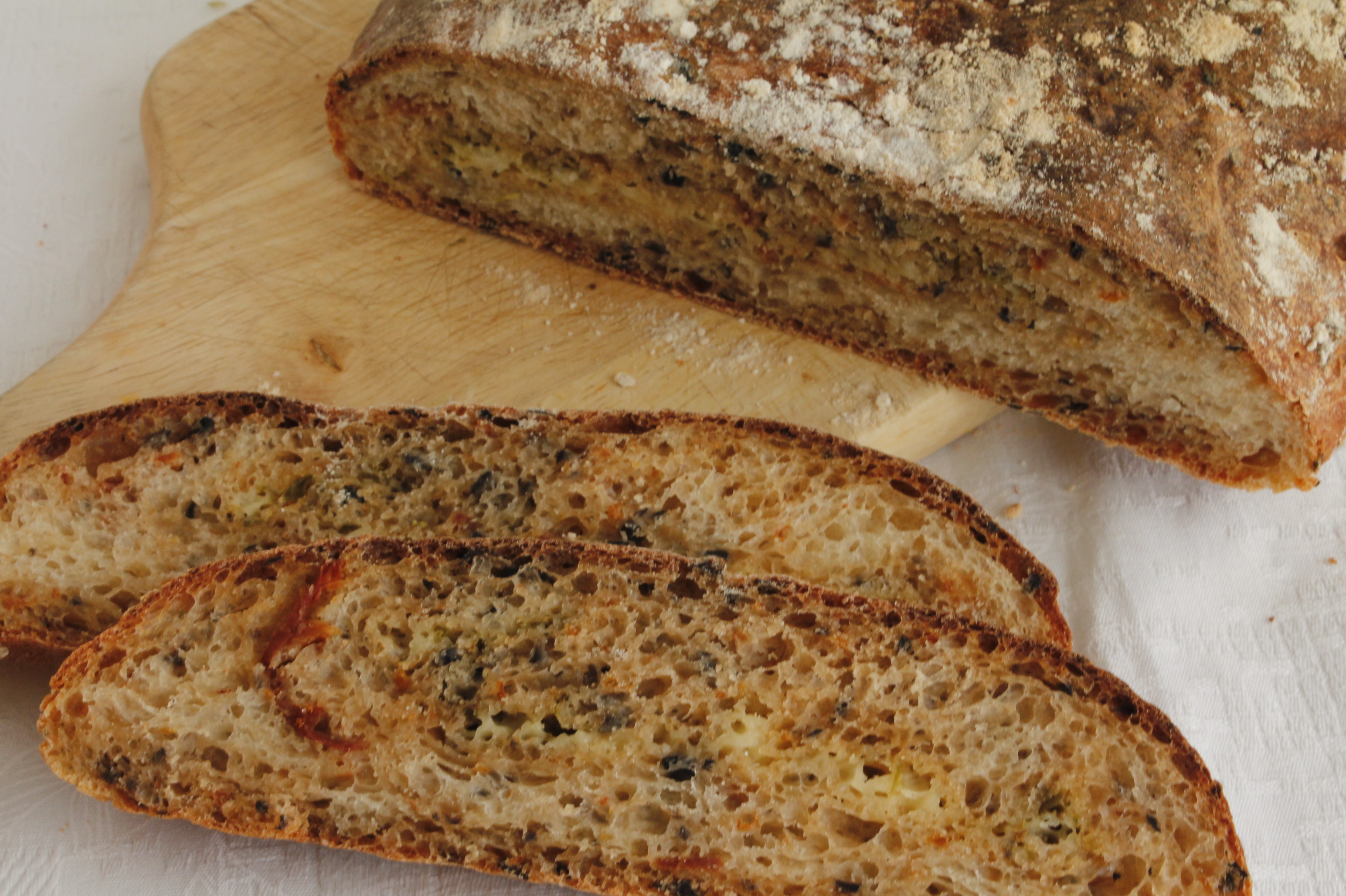 Pan de pizza, una de las recetas elaboradas durante Mundo Thermomix® Primavera 2015