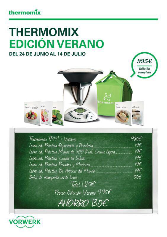 Promoción Especial Verano Thermomix®