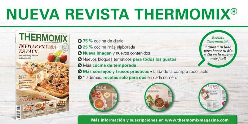 Descubre la nueva revista Thermomix® .