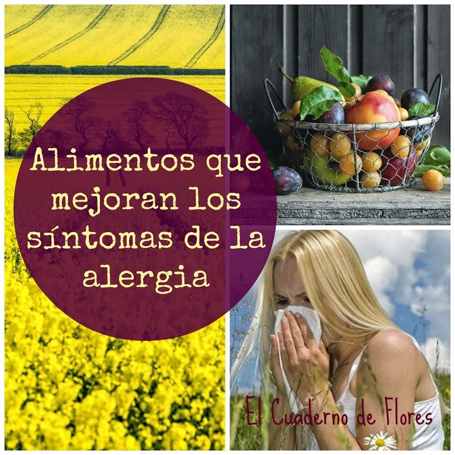 Los ácidos grasos omega-3 y las alergias primaverales.