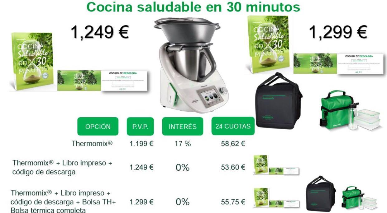 Edición Cocina Saludable En 30 Minutos Con Thermomix®  0