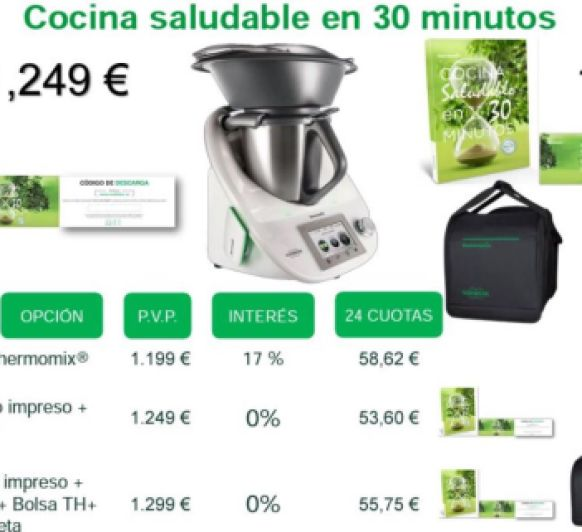 Noticias blog blog de m jose castillo sanchez de for Cocina saludable en 30 minutos thermomix
